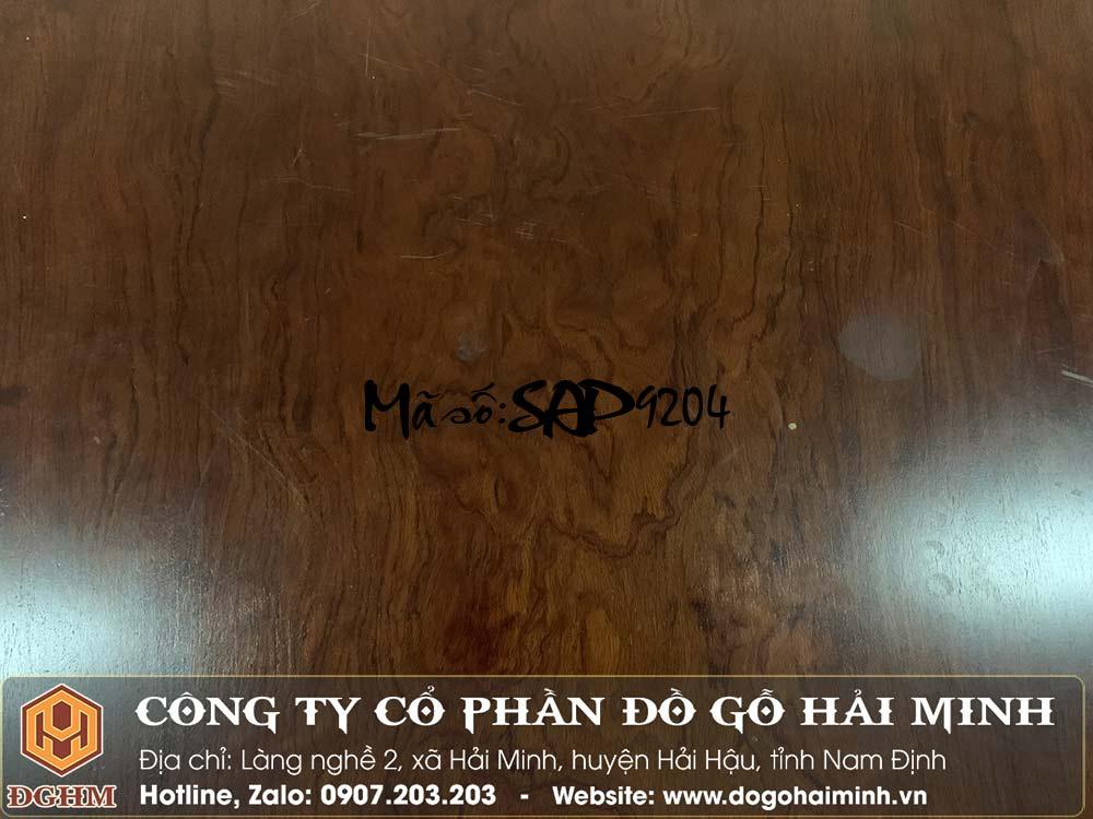 sập gỗ cẩm mặt 1 lá dài 2m