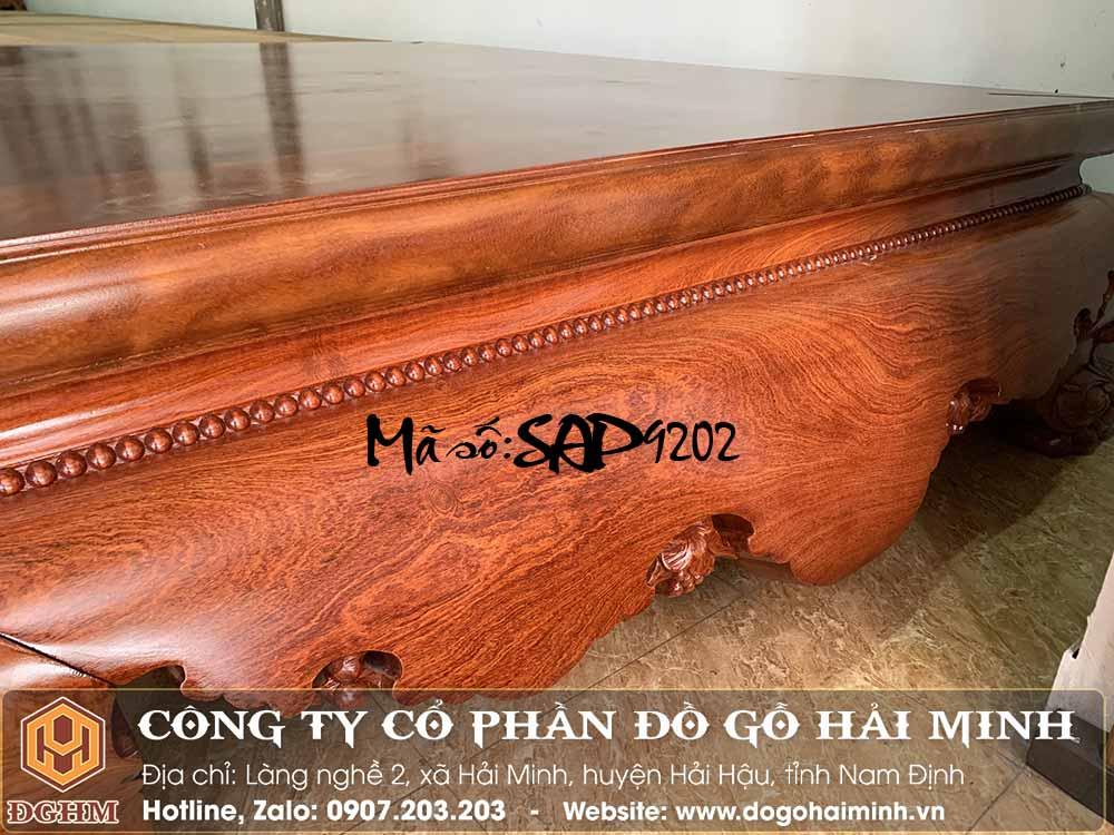 sập gỗ hương dài 2m 1 lá