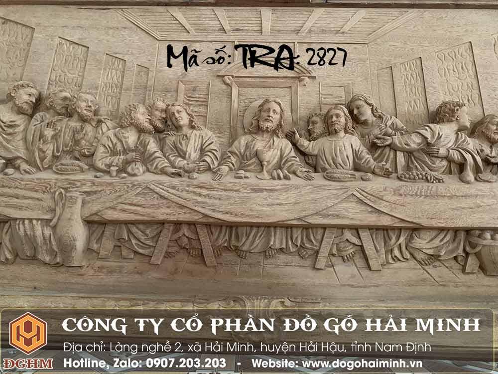 tranh gỗ đục 12 thánh tông đồ