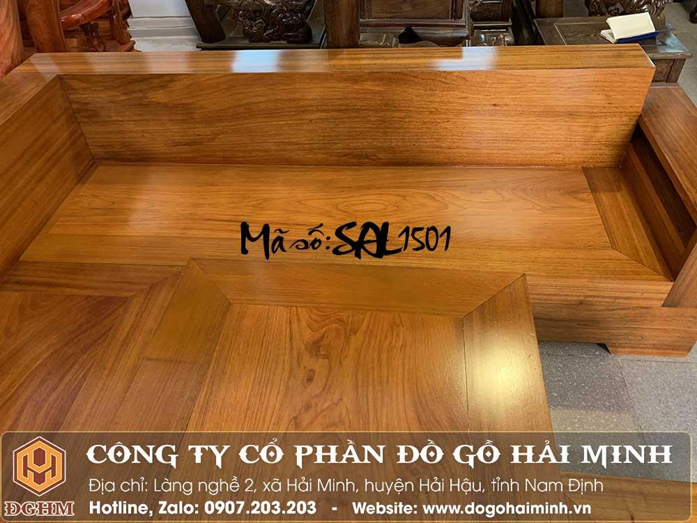 ghế sofa tấm gỗ tự nhiên