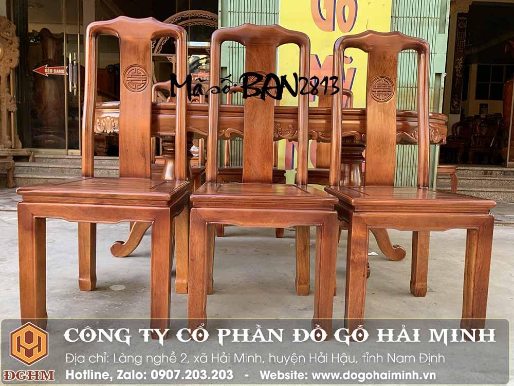 ghế đục chữ thọ gỗ gụ đẹp