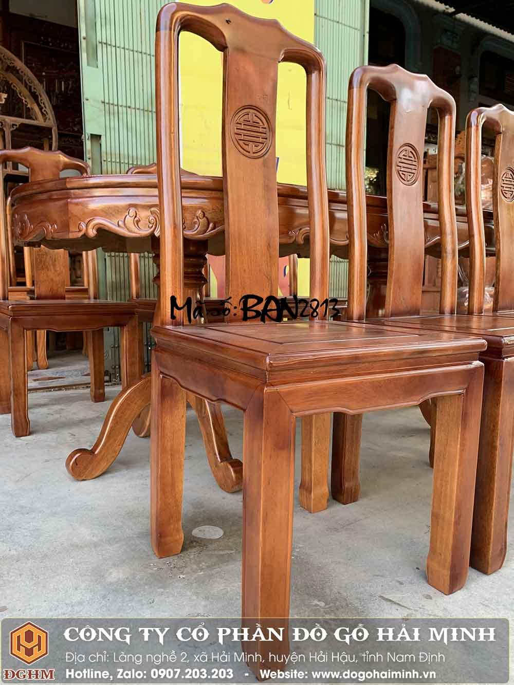 giá ghế chữ thọ gỗ gụ