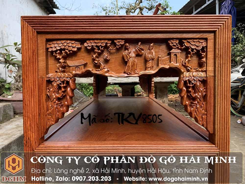 bàn trường kỷ gỗ hương đá