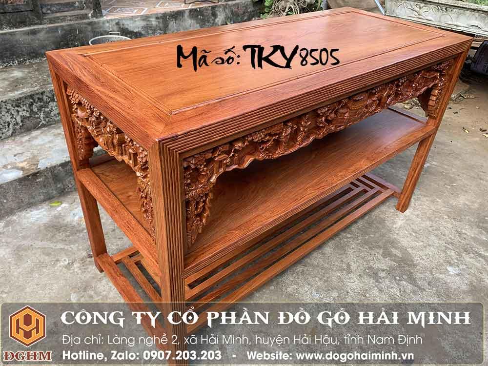 bàn ghế trường kỷ gỗ hương