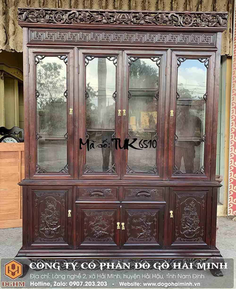 tủ rượu gỗ gụ giá rẻ